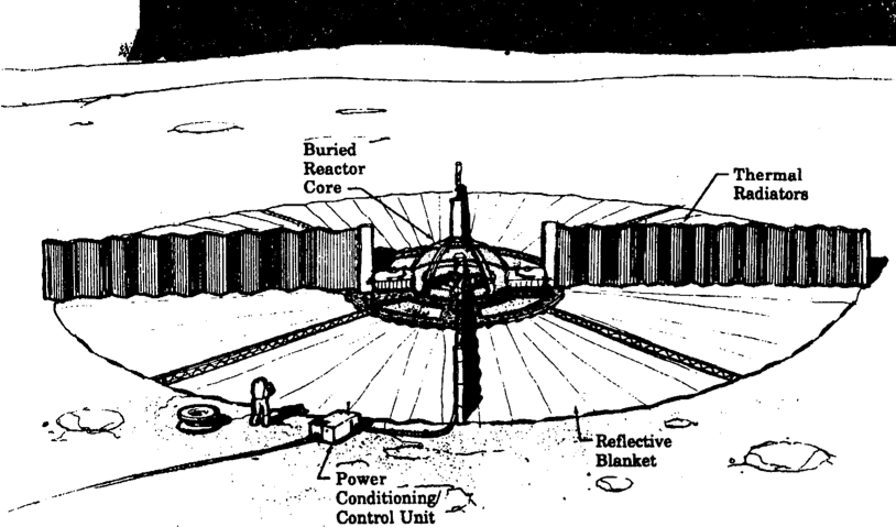 SEI Era NASA SPT-100, 100 Kilowatt Reactor